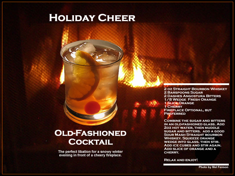 Drinker Holic: old fashioned drink