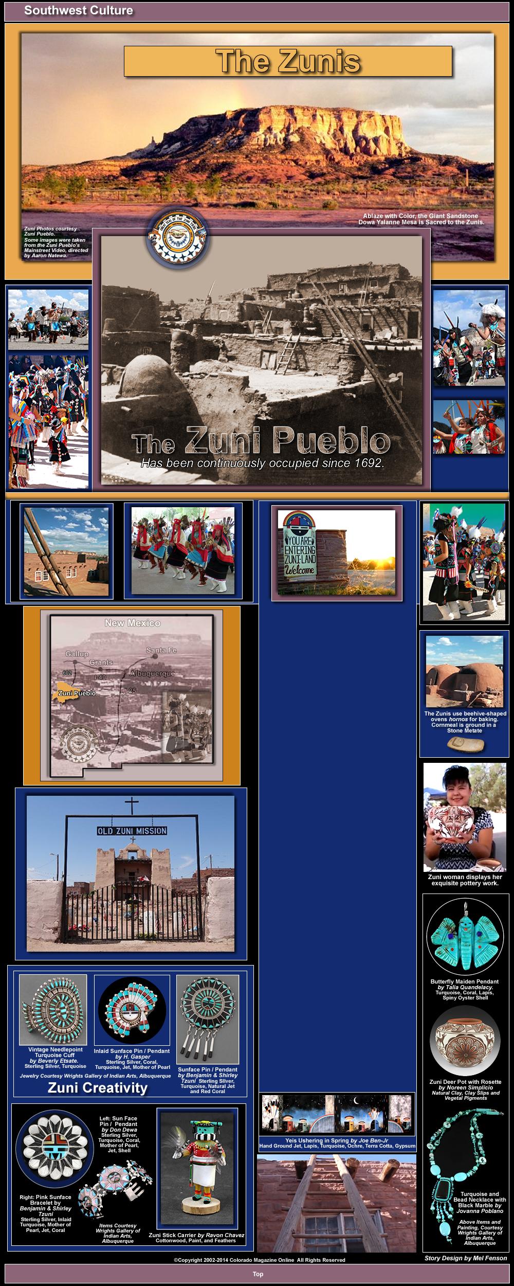 Zuni Pueblo Colorado Magazine Online